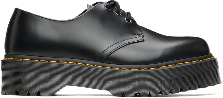 Dr. Martens 黑色 Smooth 1461 Quad 牛津鞋