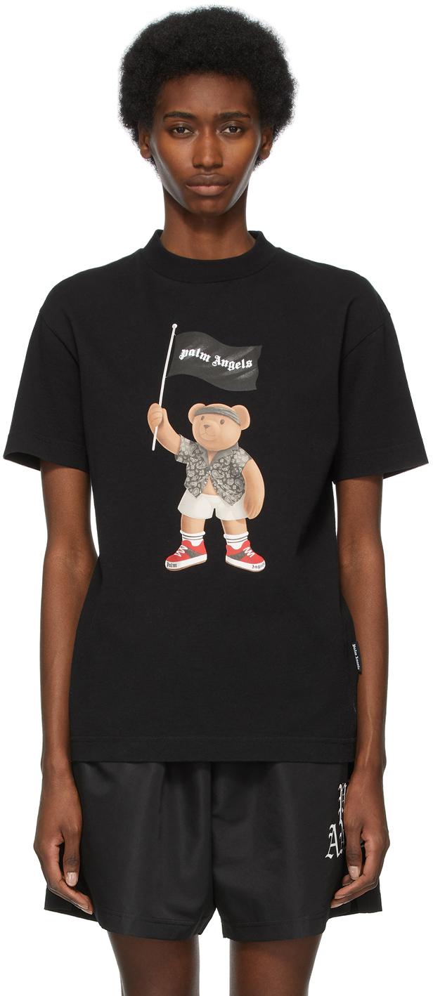 Palm Angels 海军蓝 Pirate Bear 针织衫