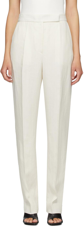 Partow 白色 Anita 长裤