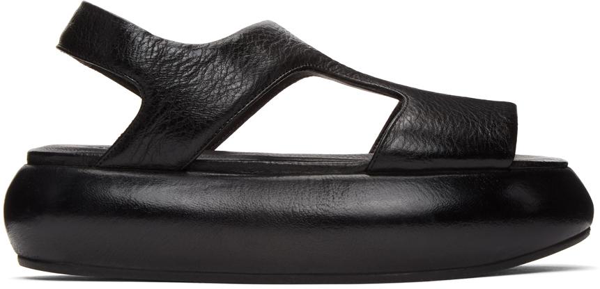 Marsèll 黑色 Ciambellona 凉鞋