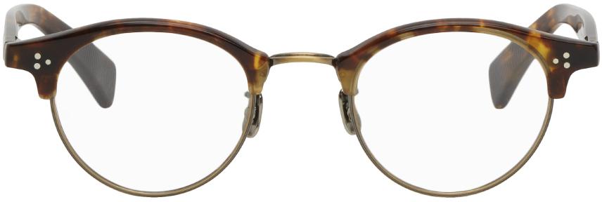 Eyevan 7285 玳瑁色 & 银色 643 眼镜