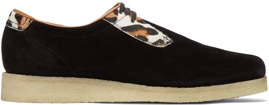 Padmore & Barnes 黑色 jsPOETS 联名 P500 德比鞋