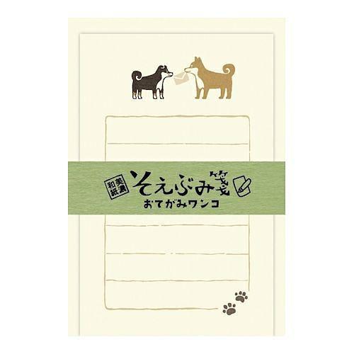Wa-Life Soebumi Memo/ Black & White Shiba Dogs eslite誠品
