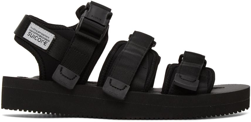 Suicoke 黑色 GGA-V 凉鞋