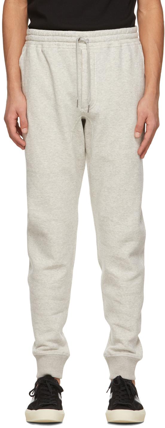 TOM FORD 灰色抽绳运动裤