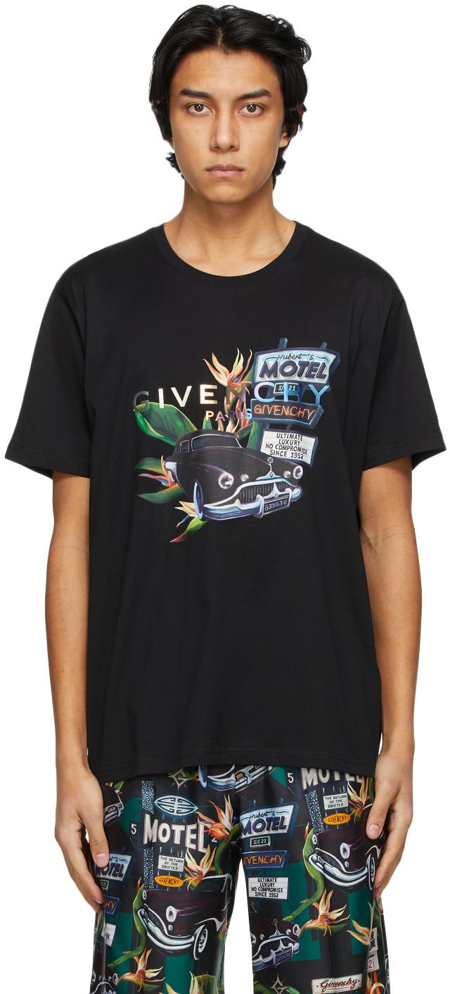 Givenchy 黑色 Motel T 恤