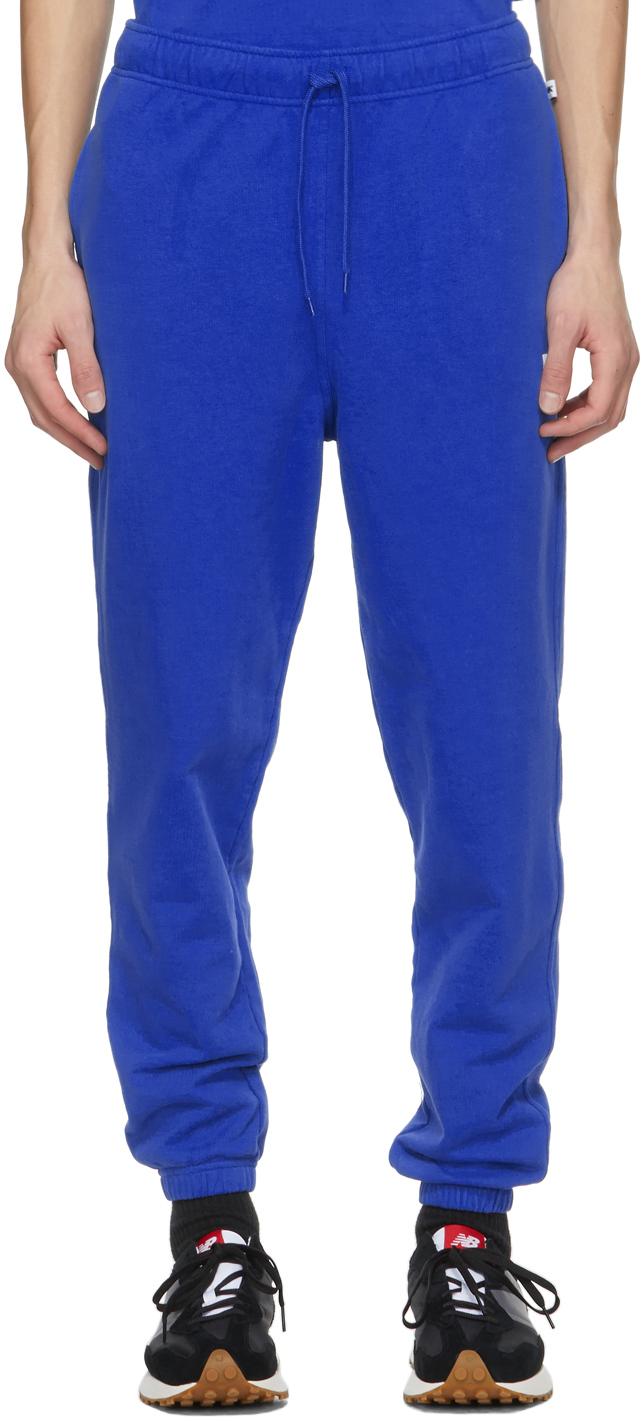 M.A. Martin Asbjørn 蓝色徽标运动裤