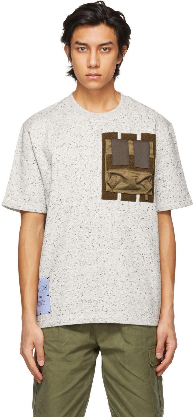MCQ 灰色 Armour T 恤