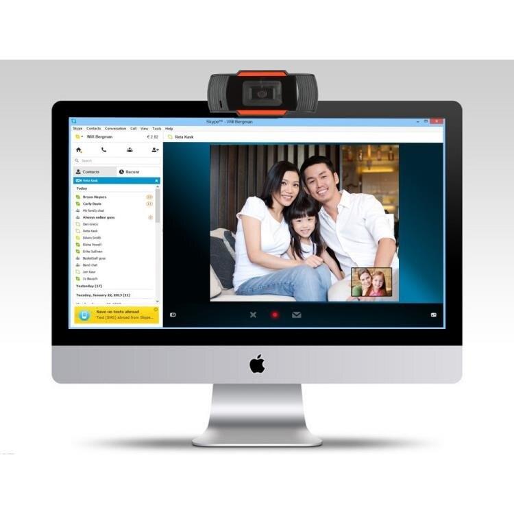 視訊攝影機USB電腦攝像頭720p高清網路攝像機1080P網課直播PC電腦網播webcam