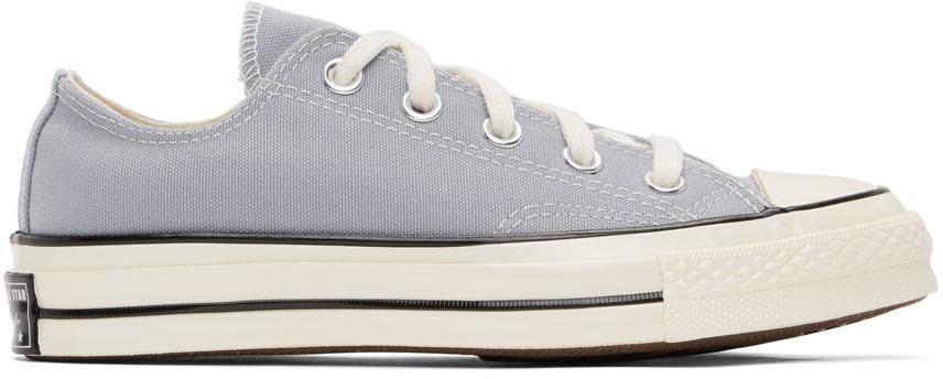 Converse 灰色 Chuck 70 OX 运动鞋