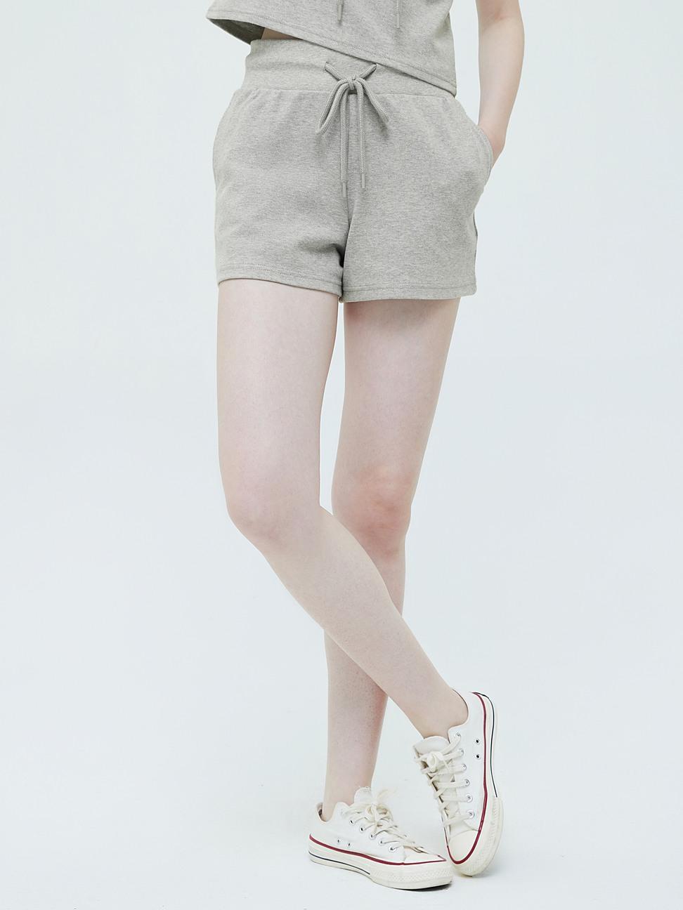 女裝 活力純色鬆緊休閒褲