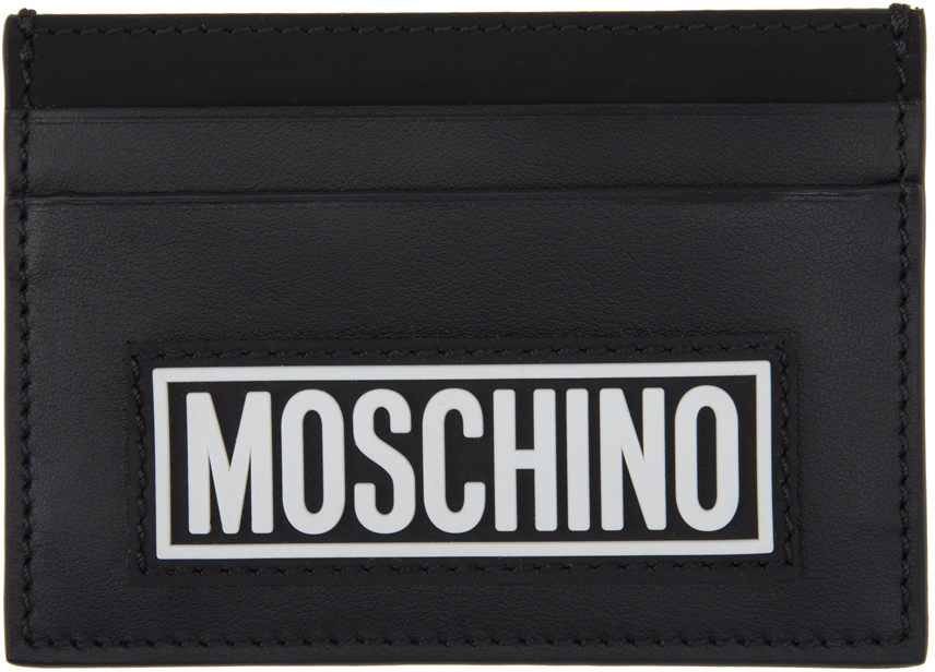 Moschino 黑色 Fantasy Print 卡包