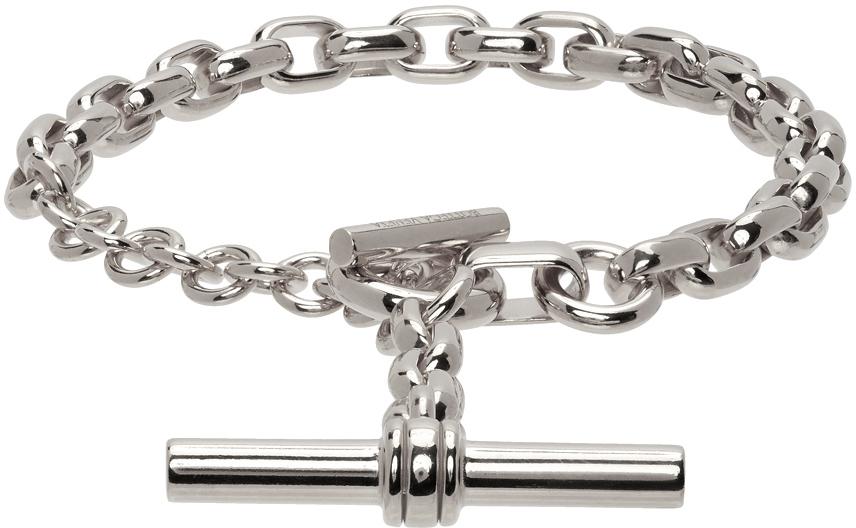 Bottega Veneta 银色 Toggle Chain 手链