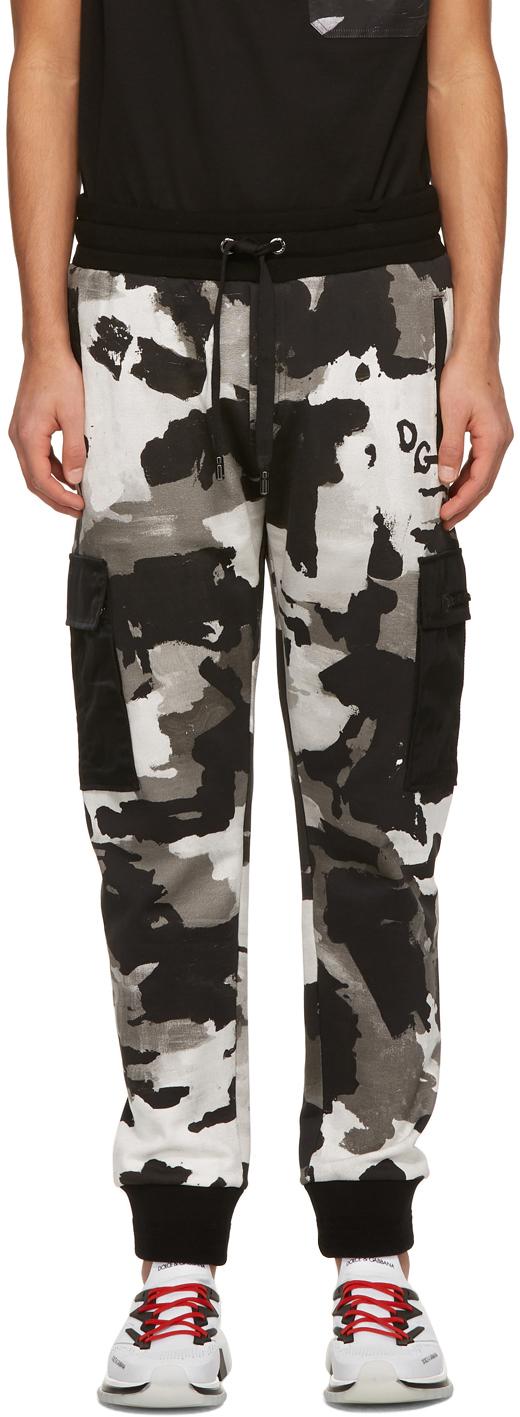 Dolce & Gabbana 多色 Jogging 迷彩工装裤