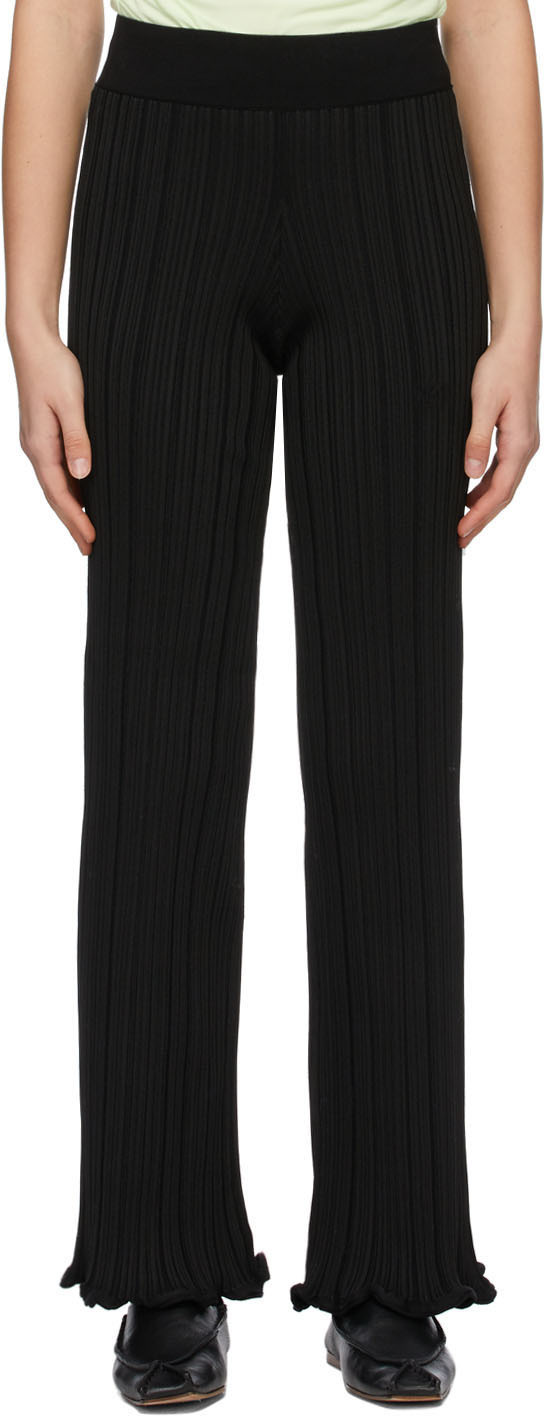 Acne Studios 黑色喇叭长裤