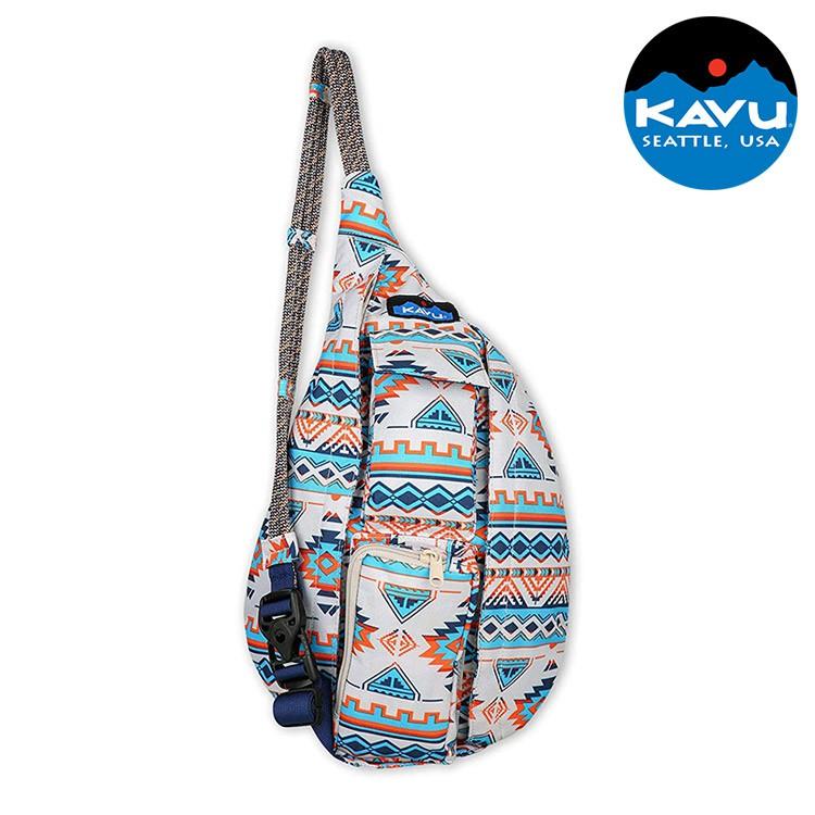 【KAVU】休閒肩背包 Mini Rope Sling 9191 地平線領域 (單肩包 斜背包 收納包 美國品牌)