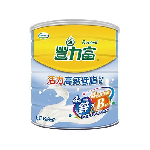 豐力富活力高鈣低脂奶粉1.5KG 超值二入組【愛買】