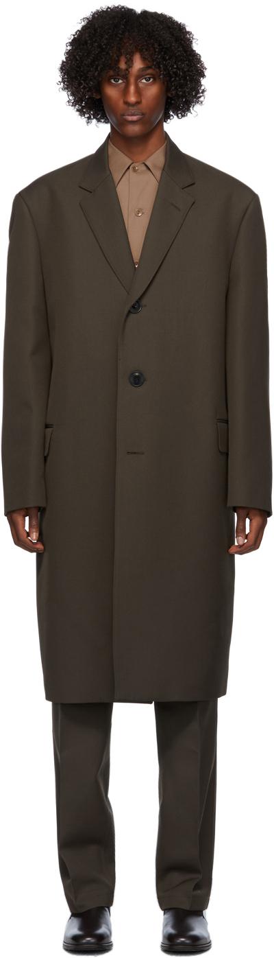 Lemaire 棕色 Suit 大衣