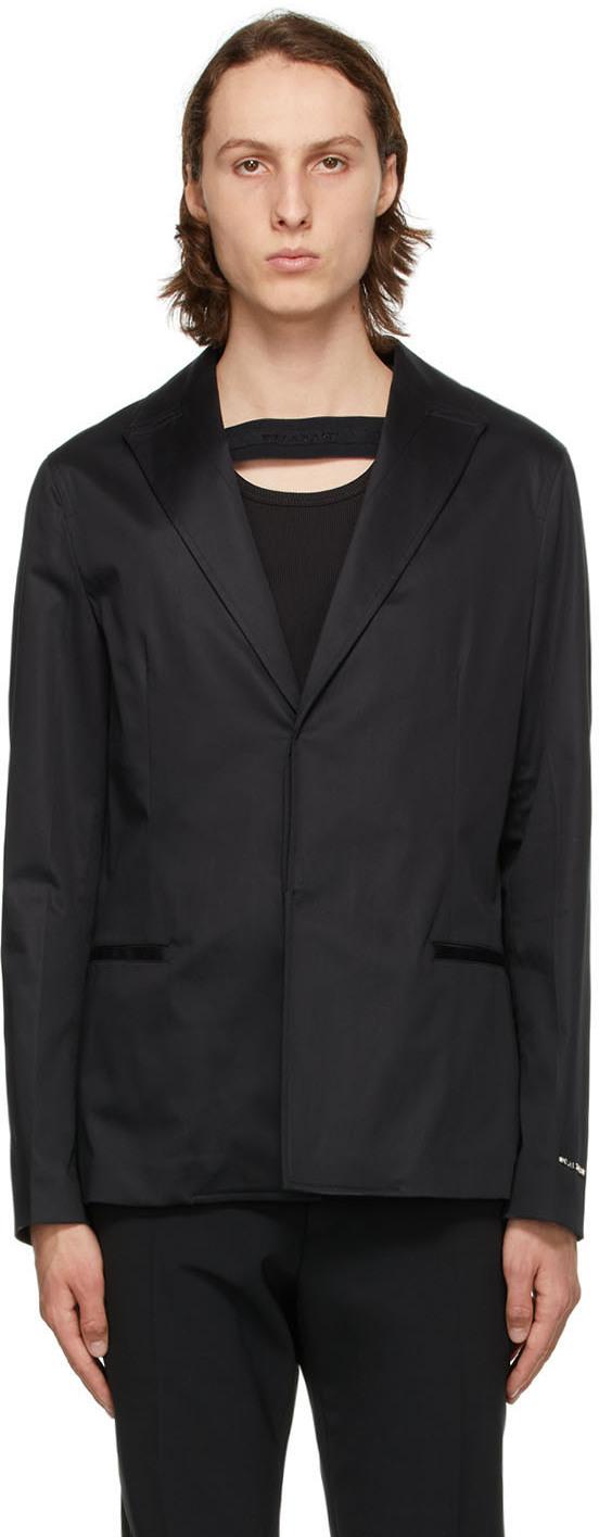 1017 ALYX 9SM 黑色 Metal Logo 2 西装外套
