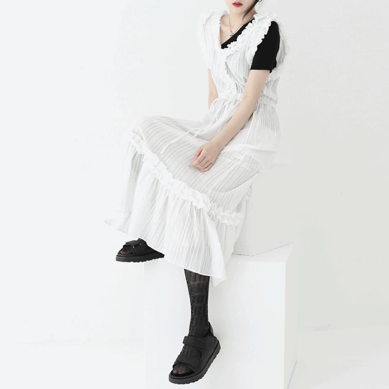 韓國空運 - Kona sleeveless Dress 長洋裝