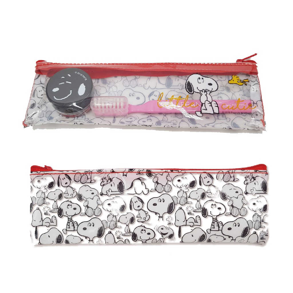 史努比SNOOPY 旅行牙刷組 旅行瓶套裝組 台灣正版授權