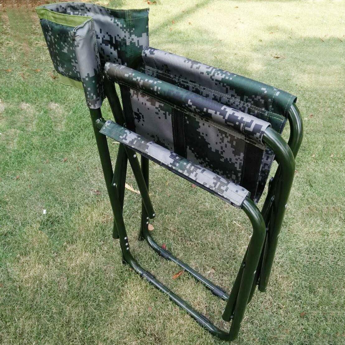 野戰指揮作業椅野戰折疊椅戶外單兵訓練迷彩長官會議