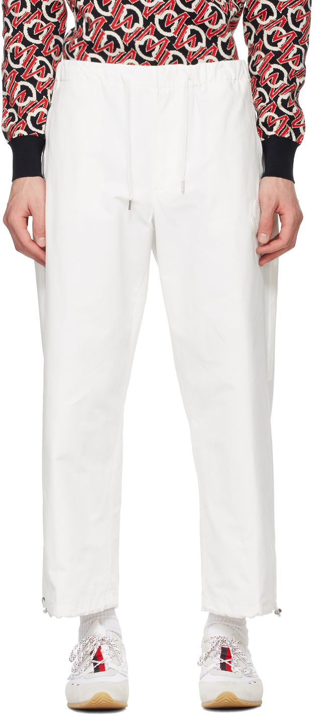 Moncler 白色 Sport 长裤