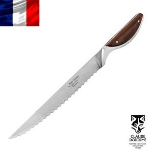 【Claude Dozorme】HC系列-異國木握柄鋸齒麵包刀20cm