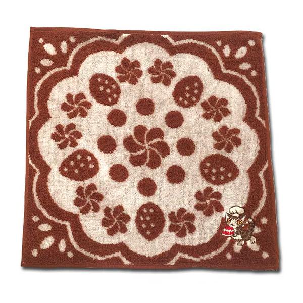 《達洋貓》方巾-巧克力蛋糕