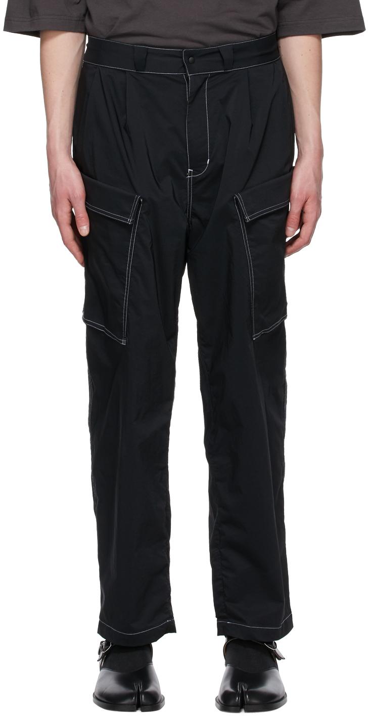 Sasquatchfabrix. 黑色 Military 工装裤