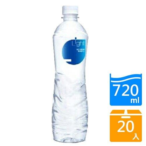 悅氏LIGHT鹼性水720mlx20瓶/箱【愛買】