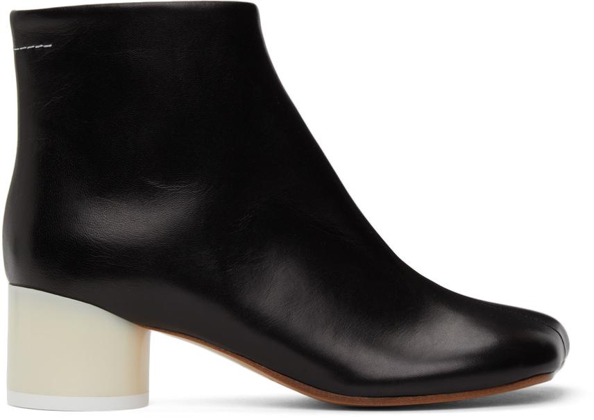 MM6 Maison Margiela 黑色 Classic 踝靴