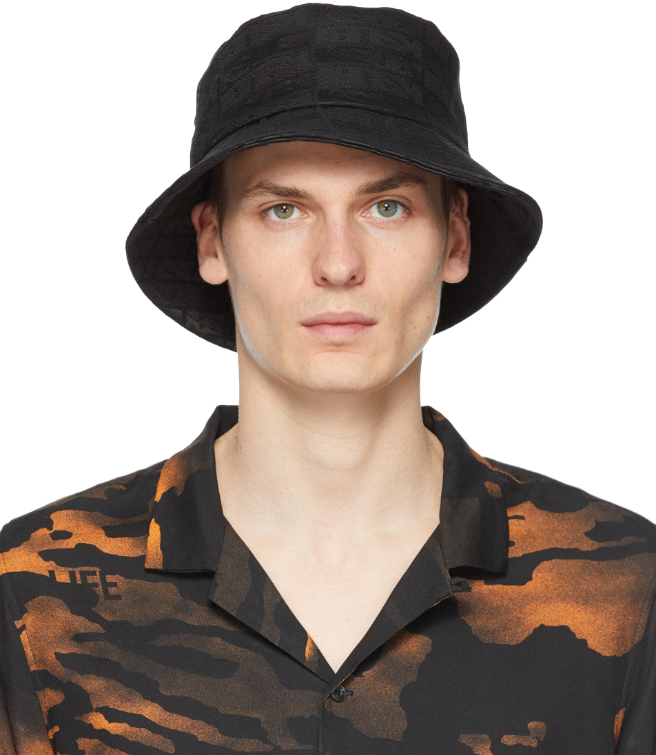Ksubi 黑色 Icognito 渔夫帽