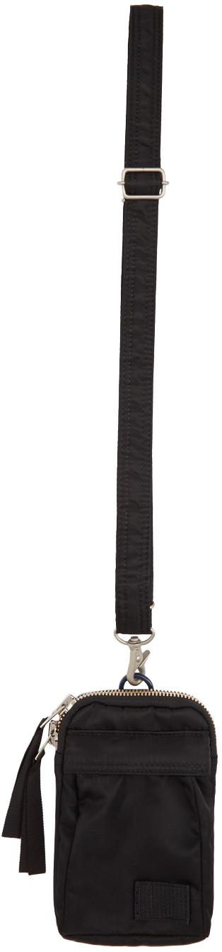 Sacai 黑色 Porter 联名 Mobile 单肩包