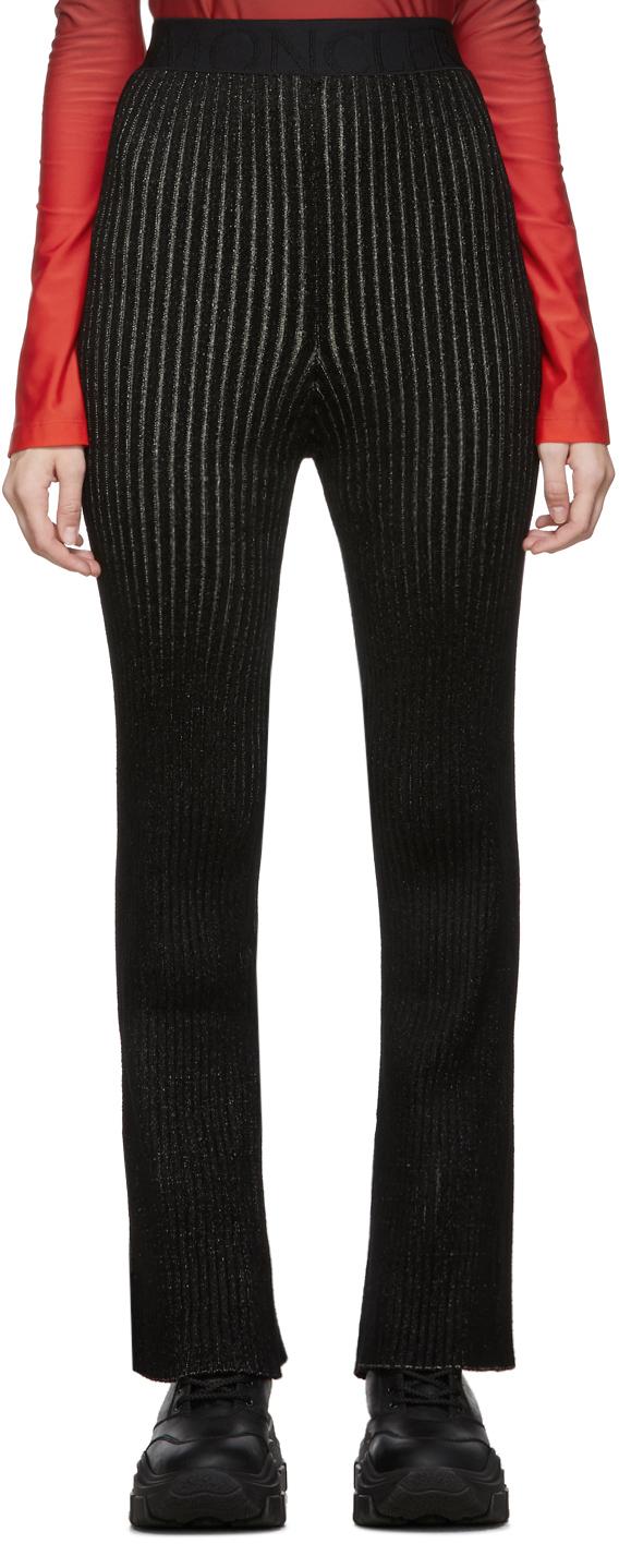 Moncler Genius 2 Moncler 1952 黑色 Tricot 休闲裤