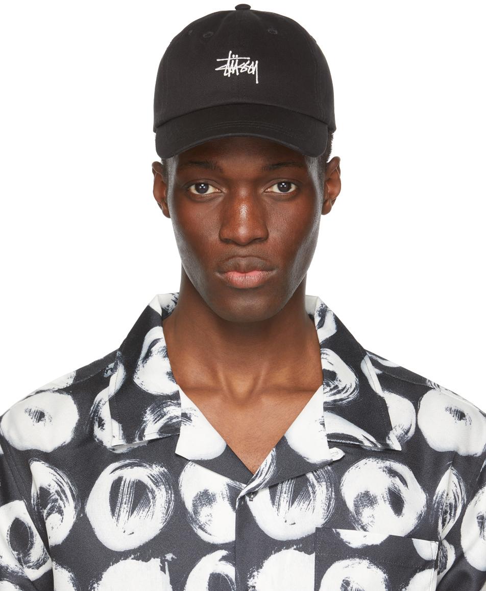 Stüssy 黑色 Stock Low Pro 棒球帽