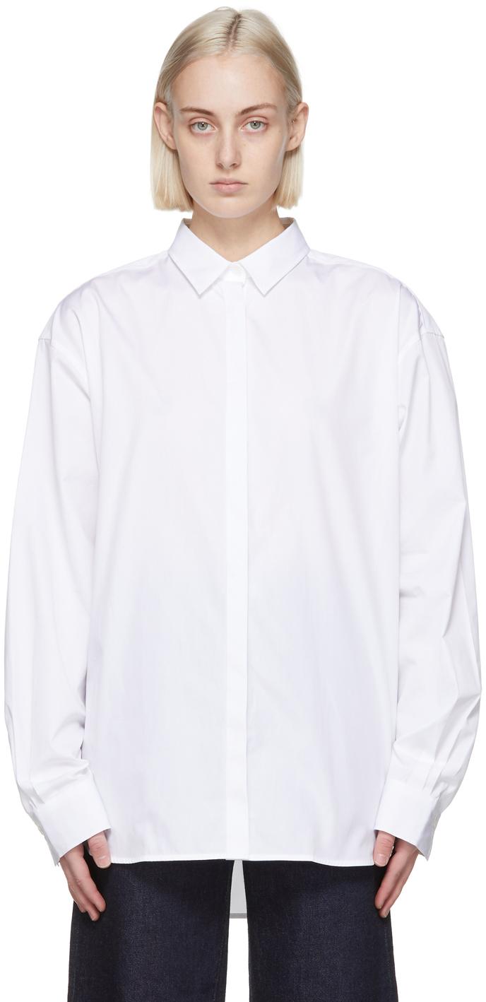 Totême 白色 Lago 衬衫