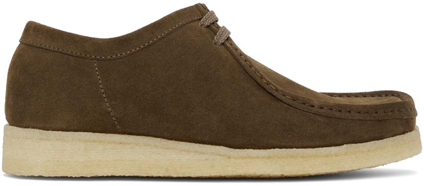 Padmore & Barnes 棕色 Original P204 绒面革莫卡辛鞋