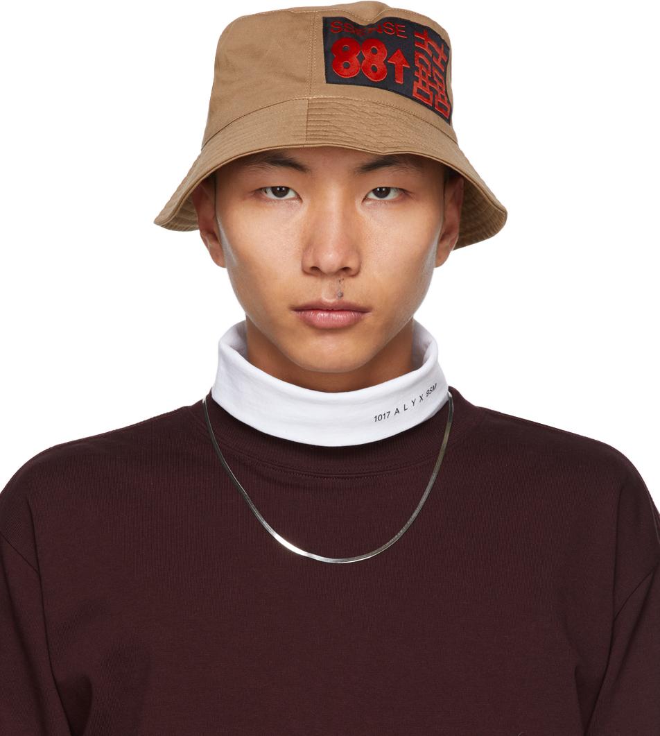 SSENSE WORKS SSENSE 独家发售 88rising 系列棕色贴饰渔夫帽