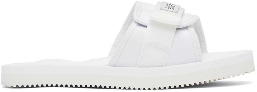 Suicoke SSENSE 独家发售白色 PADRI 拖鞋
