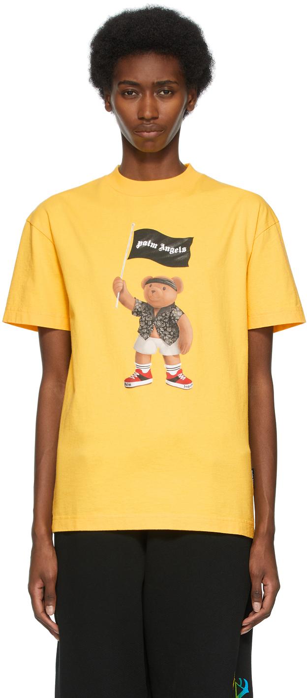 Palm Angels 黄色 Pirate Bear T 恤
