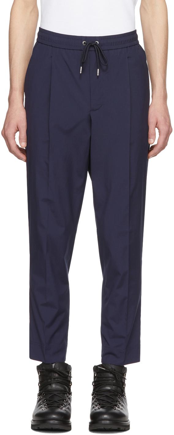 Moncler 海军蓝休闲裤