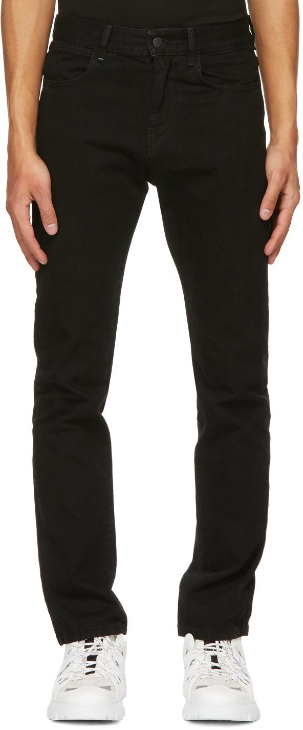 MCQ 黑色 No.0 系列修身牛仔裤