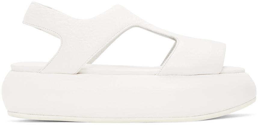Marsèll 白色 Ciambellona 凉鞋