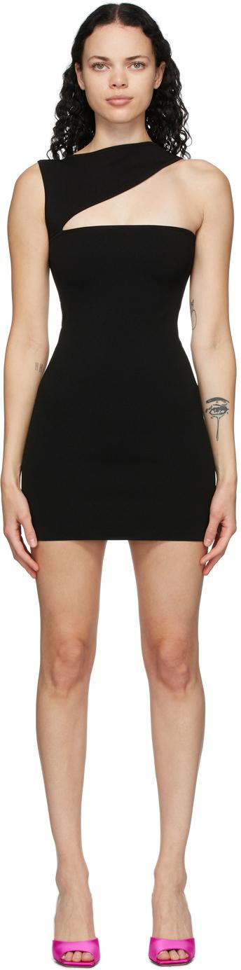 Gauge81 黑色 Ronda 连衣裙