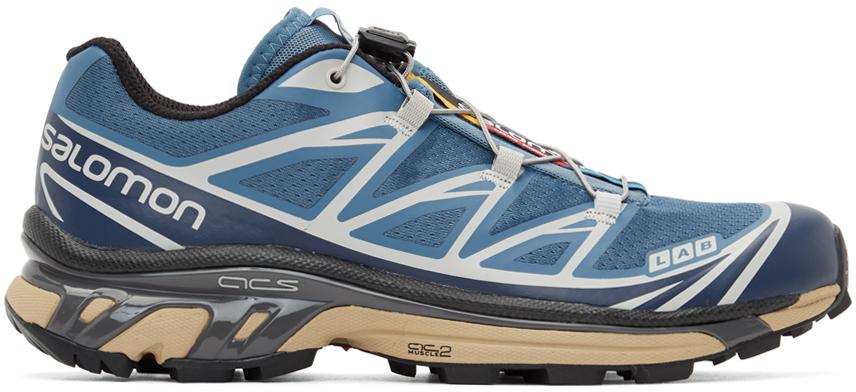 Salomon 蓝色 XT-6 Advanced 运动鞋