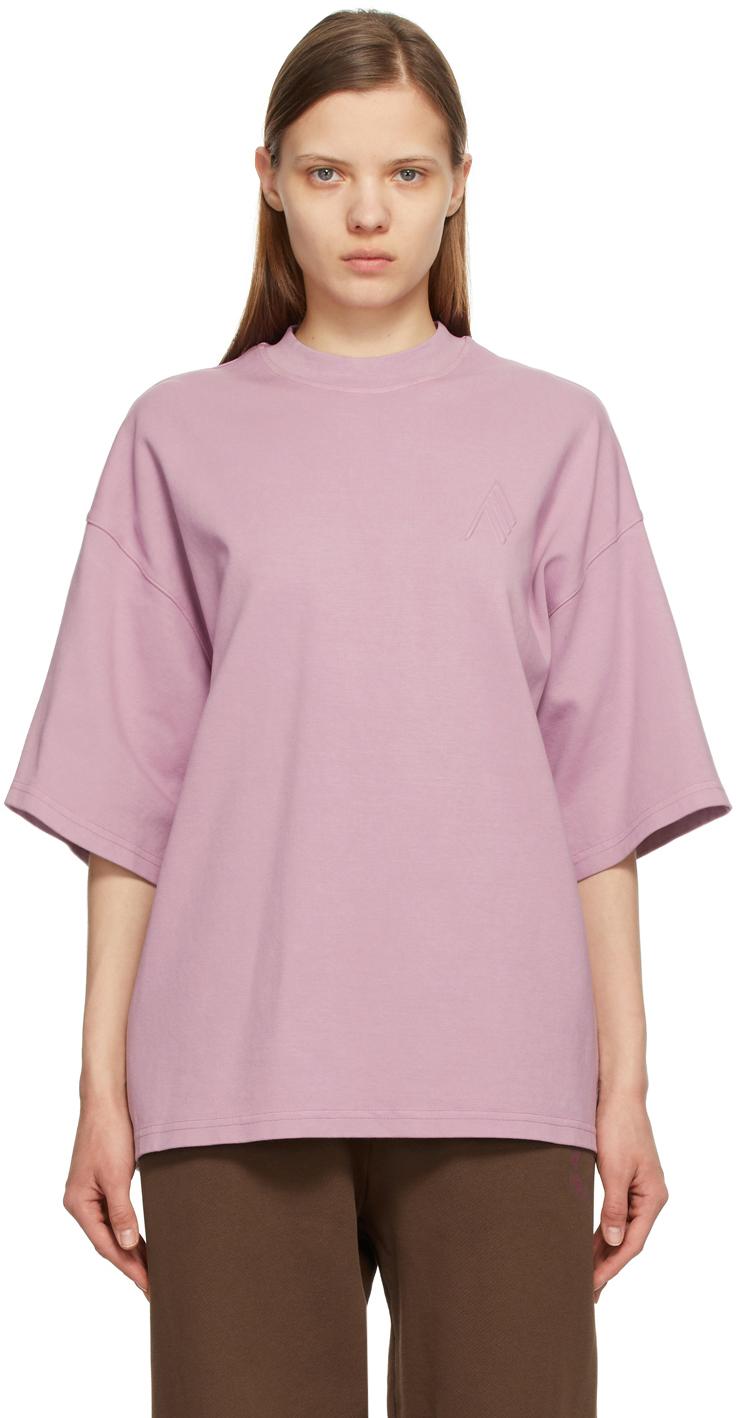 The Attico 紫色 Cara T 恤