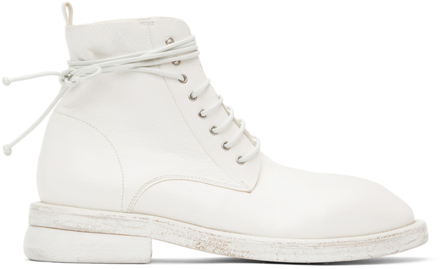 Marsèll 白色 Dodone 踝靴