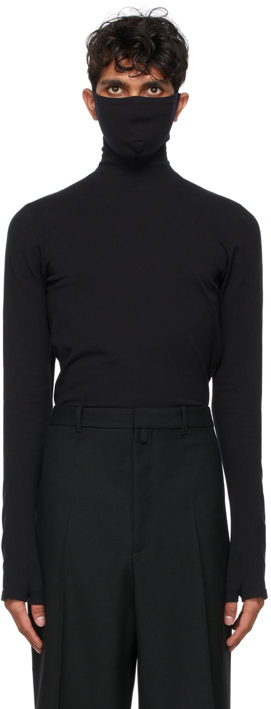 Balenciaga 黑色 Mask 高领衫