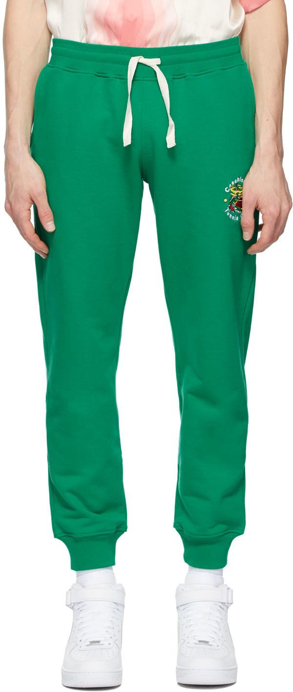 Casablanca 绿色 Tennis Club Island 运动裤